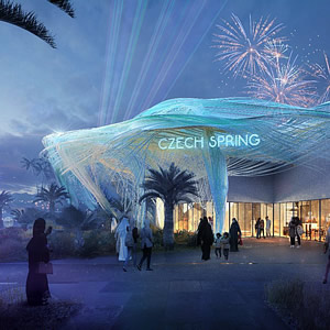 The Czech Republic knows the shape of the pavilion for the World Exposition 2020 in Dubai